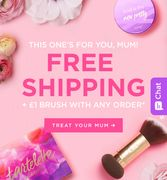 Tarte Free Shipping and £1 Brush with Purchase