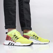 Adidas Originals EQT Support mid ADV Primeknit Shoes Glow/Core Black/Turbo