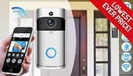3-in-1 Smartphone-Connected Video Doorbell with Intercom