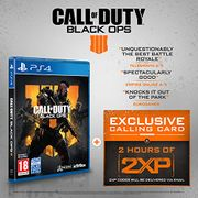 Call of Duty : Black Ops 4 with 2 Hours of 2XP