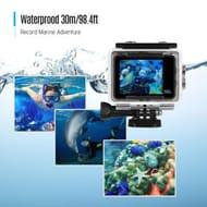 Waterproof 4K 18MP 2'' LCD Ultra HD WiFi Sports Action Camera