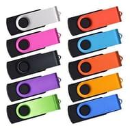 USB Stick 128MB 10 Pack USB 2.0 Flash Drives