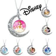 Disney Style Zodiac Pendant Necklace for £2.99