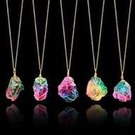 Rock Chakra Necklace - very versatile