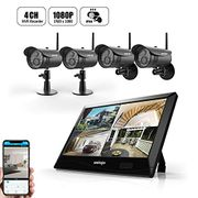 50% off UNIOJO 1080P Wireless Security Camera System