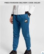 Mens Nike Air Leg Logo Track Suit Bottoms Now £25 Size XS to XXL Free Delivery