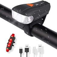 ELEHOT Bike Lights Mountain Road Led USB Bicycle Lights- save 50%
