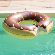 Inflatable Doughnut Pool Float - Save £6