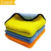 Microfiber Cleaning Towel, Professional Car Polishing Cloth Lint-Free