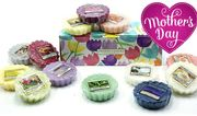 10 Yankee Candle Wax Melt Tarts + Floral Gift Box - Great Mother's Day Present!
