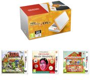 BUNDLE! NINTENDO 2DS XL PLUS 3 GAMES