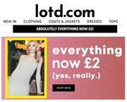 Absolutely EVERYTHING £2 at LOTD - Fill Yer Boots!