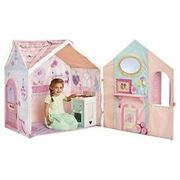 Rose Petal Cottage Tent Kids Play House & Cooker Playset Dream Town for Ages 2+