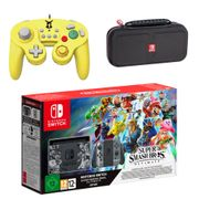 Nintendo Switch Super Smash Bros. Ultimate Edition Pikachu Pack