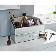 Karina Bailey Mirrored Beauty Storage Box