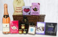 Luxury Mothers Day Hamper - with Moontstone Rose, Tea & Jam!