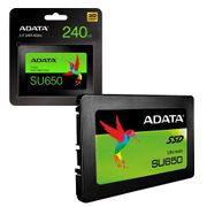 ADATA SU650 240GB 3D NAND 2.5 Inch SATA III High Speed Internal SSD