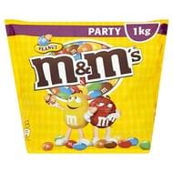 M&M's Peanut - 1kg Party Bag