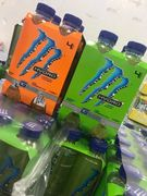 4PK Monster Hydro - Mean Green / Tropical Thunder at Farmfoods 75%off