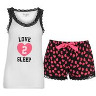 Miso Vest and Short Pyjama Set Ladies