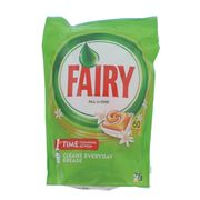 Fairy All in One Orange Dishwasher Tablets - 60pk