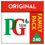 Iceland 7 Day Deal Pg Tips . 240pk Tea Bags