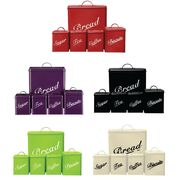 5 Piece Canister Set Bread Bin Sugar Coffee Tea Biscuits Tin Only £14.41