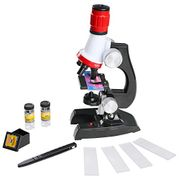 Kids Microscope Toy Set with Microscope Slides