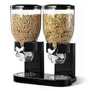 Double Plastic Cereal Dispenser