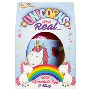 Beacon Confectionery Unicorns Are Real Milk Chocolate Egg & Mug 45g