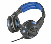 Trust Gaming GXT 350 Radius 7.1 Gaming Headset for PC and Laptop - Black/Blue