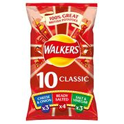 Walkers Classic Variety Case Pack Crisps X 100 Bags!