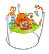 Fisher-Price Roaring Rainforest Jumperoo, Baby Activity Centre, Music & Lights