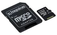 Kingston Micro SD Card 64 GB W/adapter at Amazon - £7.99 Prime / £12.48 Non-Prime