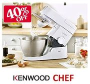 40% OFF, Save £130! Kenwood Chef Stand Mixer **4.9 STARS**