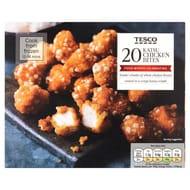 Tesco 20 Katsu Chicken Bites 240G