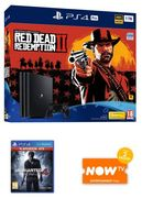 PS4 Pro 1TB + Red Dead Redemption 2 + Uncharted 4 + Now TV