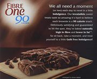 Fibre One 90 Calorie Chocolate Fudge Brownies 24g (Pack of 25 Bars)