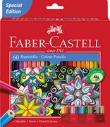 Faber-Castell Colour Pencils (Pack of 60) - 24% Off