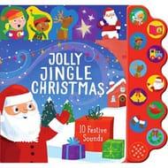 Parragon-'Jolly Jingle Christmas' 10 Button Sound Book