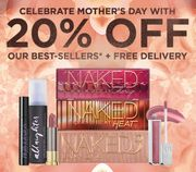 Mother's Day Celebration of 20% off