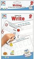 20 Wipe Clean Educational Worksheets