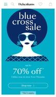 Starts 21st of March ! Debenhams Blue Cross Sale