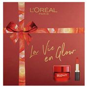 L'Oreal Paris La Vie en Glow Moisturiser and Lipstick Gift Set for Her