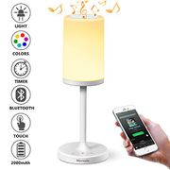 Touch Sensor Bedside Lamp + Bluetooth Speaker for Bedroom Living Room