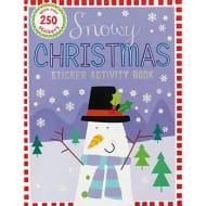 Snowy Christmas Sticker Activity Book