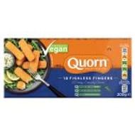 Quorn Vegan Fishless Fingers 10 200g