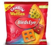 Birds Eye Mini Rainbow Waffles from 8th April