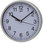 Unity Silent Sweep Clock Silver
