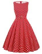 1950s Vintage Hepburn Swing Dress 75% off +£1.50 Delivery